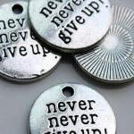 10 Never Give Up Charms